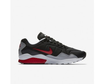 Chaussure Nike Air Zoom Pegasus 92 Pour Homme Lifestyle Noir/Gris Loup/Rouge Atome/Rouge Atome_NO. 844652-004