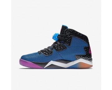 Chaussure Nike Jordan Spike Forty Pour Homme Lifestyle Noir/Bleu Photo/Orange Atomique/Rose Feu_NO. 819952-029