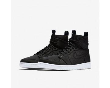 Chaussure Nike Jordan 1 Retro Ultra High Pour Homme Lifestyle Noir/Bleu Lagon/Infrarouge 23/Vert Ombre_NO. 844700-050