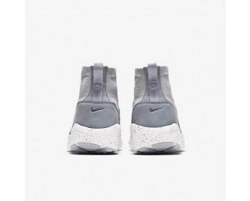 Chaussure Nike Air Footscape Magista Flyknit Pour Homme Lifestyle Gris Loup/Gris Froid/Hyper Orange/Gris Loup_NO. 816560-005