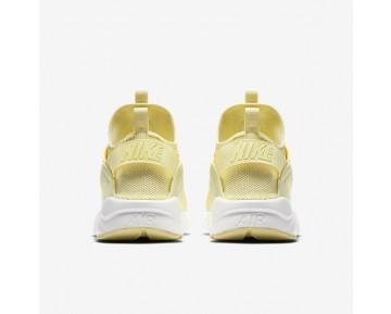 Chaussure Nike Air Huarache Ultra Breathe Pour Homme Lifestyle Mousseline De Citron/Blanc Sommet/Mousseline De Citron_NO. 833147-701