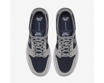 Chaussure Nike Sb Dunk Low Elite Pour Homme Lifestyle Gris Moyen/Obsidienne Foncée/Blanc/Gris Moyen_NO. 864345-004