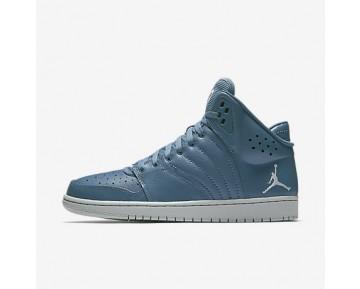 Chaussure Nike Jordan 1 Flight 4 Pour Homme Lifestyle Brouillard D'Océan/Platine Pur_NO. 820135-400