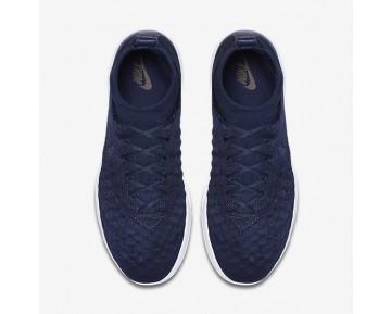 Chaussure Nike Lunar Magista Ii Flyknit Pour Homme Lifestyle Bleu Marine Collège/Noir/Blanc/Bleu Marine Collège_NO. 852614-401