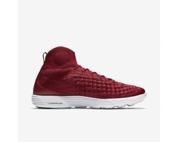 Chaussure Nike Lunar Magista Ii Flyknit Pour Homme Lifestyle Rouge Équipe/Rouge Équipe/Blanc/Rouge Équipe_NO. 852614-600