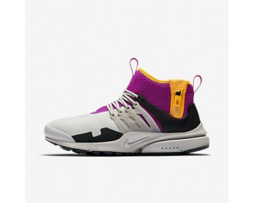 Chaussure Nike Air Presto Mid Utility Pour Homme Lifestyle Granite/Rose Éloge/Or Pro/Granite_NO. AA0868-006