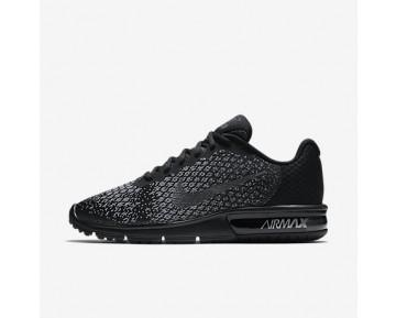 Chaussure Nike Air Max Sequent 2 Pour Homme Running Noir/Gris Foncé/Gris Loup/Hématite Métallique_NO. 852461-001