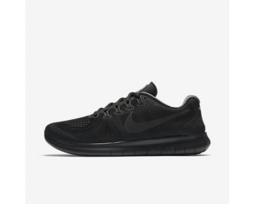 Chaussure Nike Free Rn 2017 Pour Homme Running Noir/Gris Foncé/Gris Froid/Anthracite_NO. 880839-003