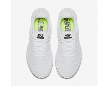Chaussure Nike Free Rn 2017 Pour Homme Running Blanc/Noir/Platine Pur/Blanc_NO. 880839-100