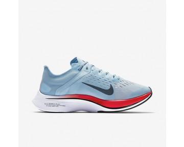 Chaussure Nike Zoom Vaporfly 4% Pour Homme Running Bleu Glacé/Cramoisi Brillant/Rouge Université/Renard Bleu_NO. 880847-401