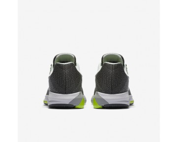 Chaussure Nike Air Zoom Structure 20 Pour Homme Running Gris Foncé/Platine Pur/Volt/Blanc_NO. 849576-007