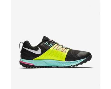Chaussure Nike Air Zoom Wildhorse 4 Pour Homme Running Noir/Volt/Hyper Turquoise/Blanc_NO. 880565-007