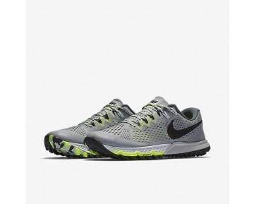 Chaussure Nike Air Zoom Terra Kiger 4 Pour Homme Running Discret/Gris Foncé/Volt/Noir_NO. 880563-002