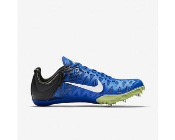 Chaussure Nike Zoom Maxcat 4 Pour Homme Running Hyper Cobalt/Noir/Vert Ombre/Blanc_NO. 549150-413