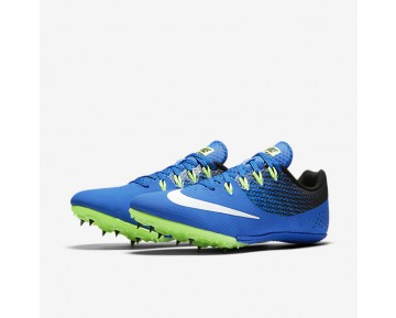 Chaussure Nike Zoom Rival S 8 Pour Homme Running Hyper Cobalt/Noir/Vert Ombre/Blanc_NO. 806554-413