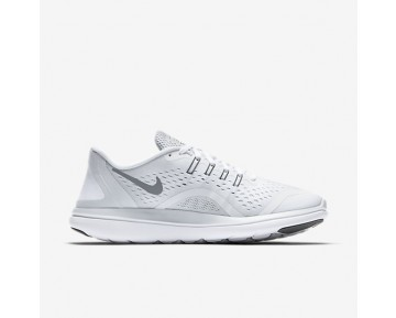Chaussure Nike Flex 2017 Rn Pour Homme Running Blanc/Platine Pur/Gris Froid_NO. 898457-100