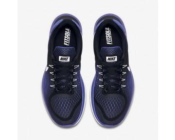 Chaussure Nike Flex 2017 Rn Pour Homme Running Noir/Bleu Royal Profond/Blanc_NO. 898457-004