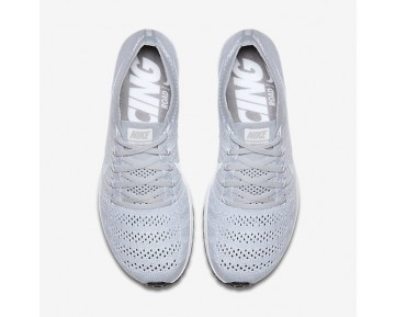 Chaussure Nike Zoom Flyknit Streak Pour Homme Running Platine Pur/Noir/Blanc_NO. 835994-002