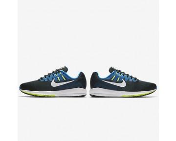 Chaussure Nike Air Zoom Structure 20 Pour Homme Running Noir/Bleu Photo/Vert Ombre/Blanc_NO. 849574-004