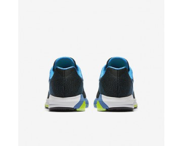 Chaussure Nike Air Zoom Structure 20 Pour Homme Running Noir/Bleu Photo/Vert Ombre/Blanc_NO. 849574-004