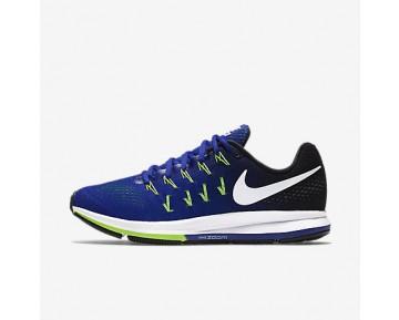 Chaussure Nike Air Zoom Pegasus 33 Pour Homme Running Harmonie/Noir/Vert Électrique/Blanc_NO. 831352-400