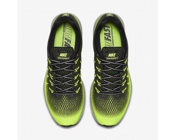 Chaussure Nike Air Zoom Pegasus 33 Shield Pour Homme Running Kaki Cargo/Volt/Noir/Bronze Rouge Métallique_NO. 849564-300