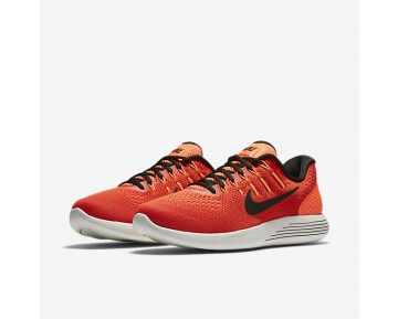 Chaussure Nike Lunarglide 8 Pour Homme Running Orange Max/Hyper Orange/Vert Citron Électrique/Noir_NO. 843725-802
