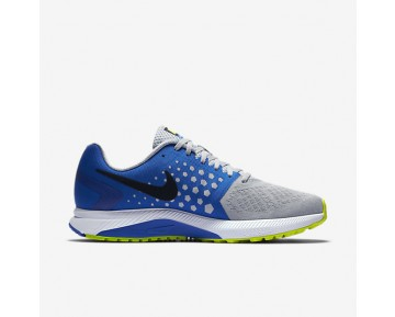 Chaussure Nike Air Zoom Span Pour Homme Running Gris Loup/Hyper Cobalt/Platine Pur/Noir_NO. 852437-006