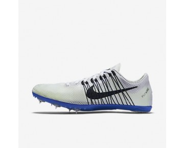Chaussure Nike Zoom Victory 2 Pour Homme Running Blanc/Bleu Coureur/Noir_NO. 555365-100