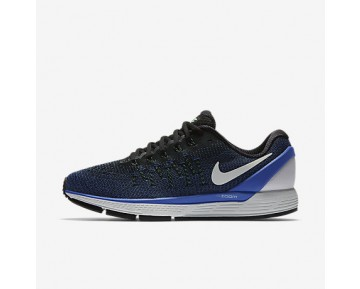 Chaussure Nike Air Zoom Odyssey 2 Pour Homme Running Noir/Bleu Moyen/Vert Electro/Blanc Sommet_NO. 844545-004