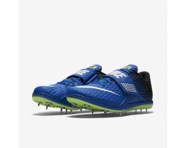 Chaussure Nike High Jump Elite Pour Homme Running Hyper Cobalt/Noir/Vert Ombre/Blanc_NO. 806561-413
