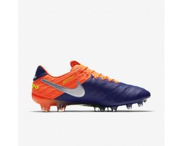 Chaussure Nike Tiempo Legend Vi Fg Pour Homme Football Bleu Royal Profond/Cramoisi Total/Zeste D'Agrumes/Chrome_NO. 819177-409