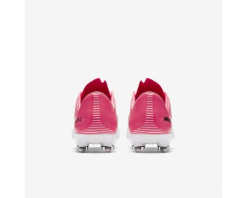 Chaussure Nike Mercurial Vapor Xi Fg Pour Homme Football Rose Coureur/Blanc/Noir_NO. 831958-601