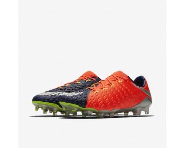 Chaussure Nike Hypervenom Phantom 3 Fg Pour Homme Football Bleu Royal Profond/Cramoisi Total/Zeste D'Agrumes/Chrome_NO. 852567-409