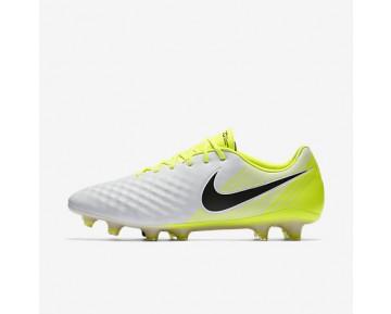 Chaussure Nike Magista Opus Ii Pour Homme Football Blanc/Volt/Gris Loup/Noir_NO. 843813-107