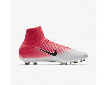 Chaussure Nike Mercurial Veloce Iii Dynamic Fit Fg Pour Homme Football Rose Coureur/Blanc/Noir_NO. 831961-601