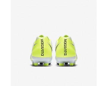 Chaussure Nike Magista Onda Ii Fg Pour Homme Football Blanc/Volt/Platine Pur/Noir_NO. 844411-109
