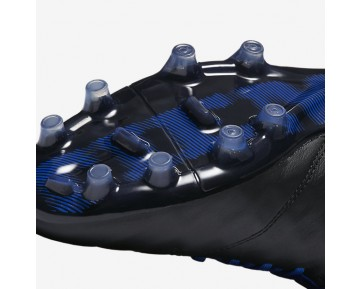 Chaussure Nike Tiempo Legend Vi Fg Pour Homme Football Noir/Bleu Électrique/Blanc/Blanc_NO. 819177-014