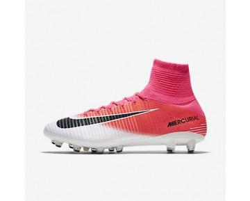 Chaussure Nike Mercurial Superfly V Ag-Pro Pour Homme Football Rose Coureur/Blanc/Noir_NO. 831955-601