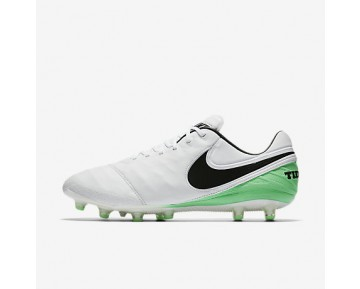 Chaussure Nike Tiempo Legend Vi Ag-Pro Pour Homme Football Blanc/Vert Electro/Noir_NO. 844593-103