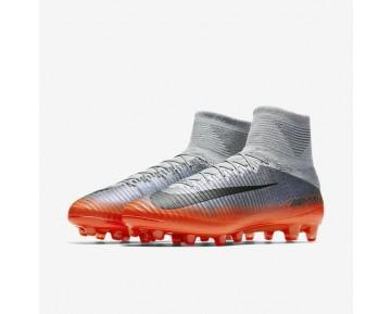Chaussure Nike Mercurial Superfly V Cr7 Dynamic Fit Ag-Pro Pour Homme Football Gris Froid/Gris Loup/Cramoisi Total/Hématite Métallique_NO. 852510-001