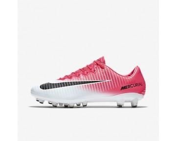 Chaussure Nike Mercurial Vapor Xi Ag-Pro Pour Homme Football Rose Coureur/Blanc/Noir_NO. 831957-601