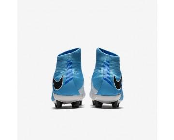 Chaussure Nike Hypervenom Phatal 3 Df Ag-Pro Pour Homme Football Blanc/Bleu Photo/Bleu Chlorine/Noir_NO. 860644-104