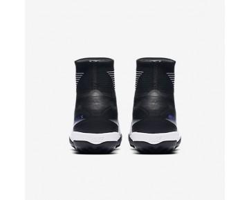 Chaussure Nike Mercurialx Proximo Ii Tf Pour Homme Football Noir/Hyper Raisin/Gris Loup/Noir_NO. 831977-005