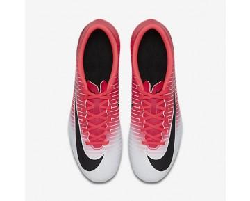 Chaussure Nike Mercurial Vortex Iii Fg Pour Homme Football Rose Coureur/Blanc/Noir_NO. 831969-601