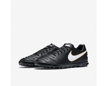 Chaussure Nike Tiempo Rio Iii Pour Homme Football Noir/Blanc_NO. 819237-010