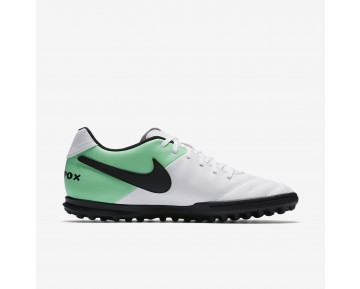 Chaussure Nike Tiempo Rio Iii Pour Homme Football Blanc/Vert Electro/Noir_NO. 819237-103