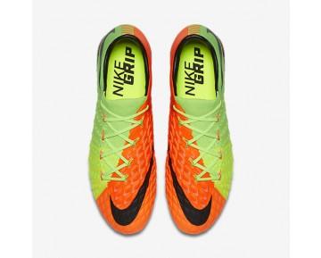 Chaussure Nike Hypervenom Phantom 3 Fg Pour Homme Football Vert Électrique/Hyper Orange/Volt/Noir_NO. 852567-308