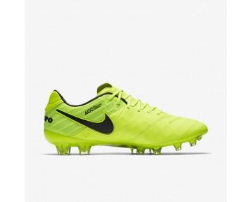 Chaussure Nike Tiempo Legend Vi Fg Pour Homme Football Volt/Volt/Noir/Noir_NO. 819177-707