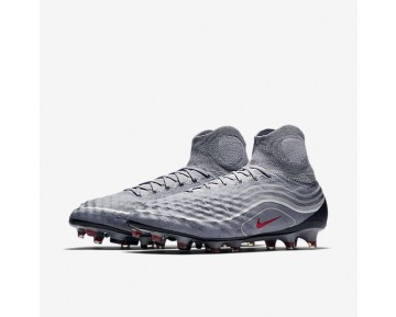 Chaussure Nike Magista Obra Ii Se Fg Pour Homme Football Gris Froid/Gris Loup/Blanc/Rouge Intense_NO. 848647-060